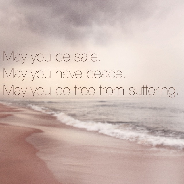 May you have peace